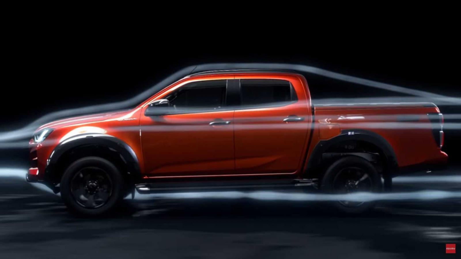 Thân xe Isuzu D-Max 2020