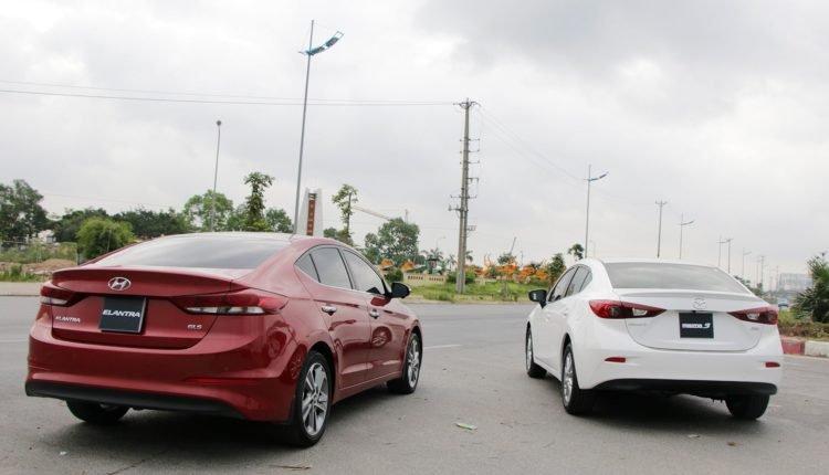 So sánh Mazda 3 với Hyundai Elantra