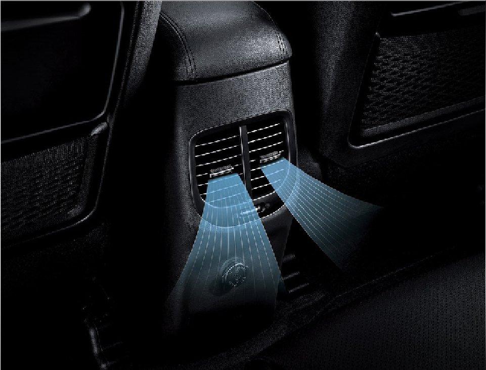 Hệ thống điều hòa cho hàng ghế thứ 2 trên xe Kia Rondo 2019 1