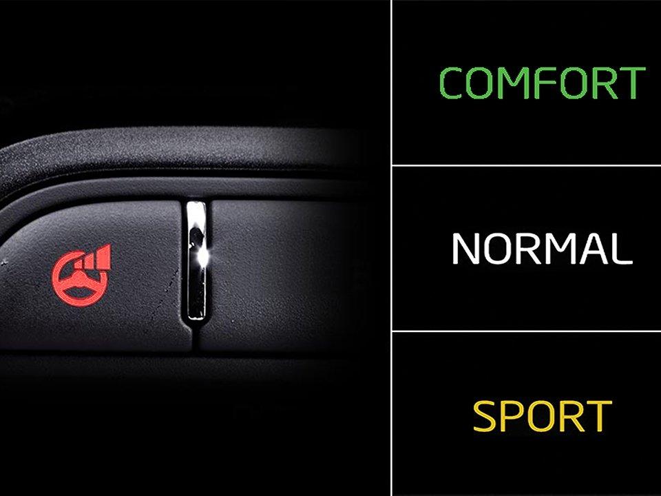 Hệ thống hỗ trợ 3 chế độ lái trên xe Kia Rondo 2019 1