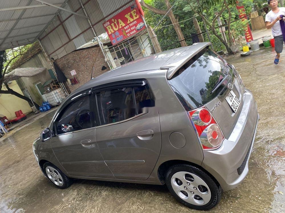 Bán xe Kia Morning đời 2011, màu xám chính chủ, giá tốt (3)