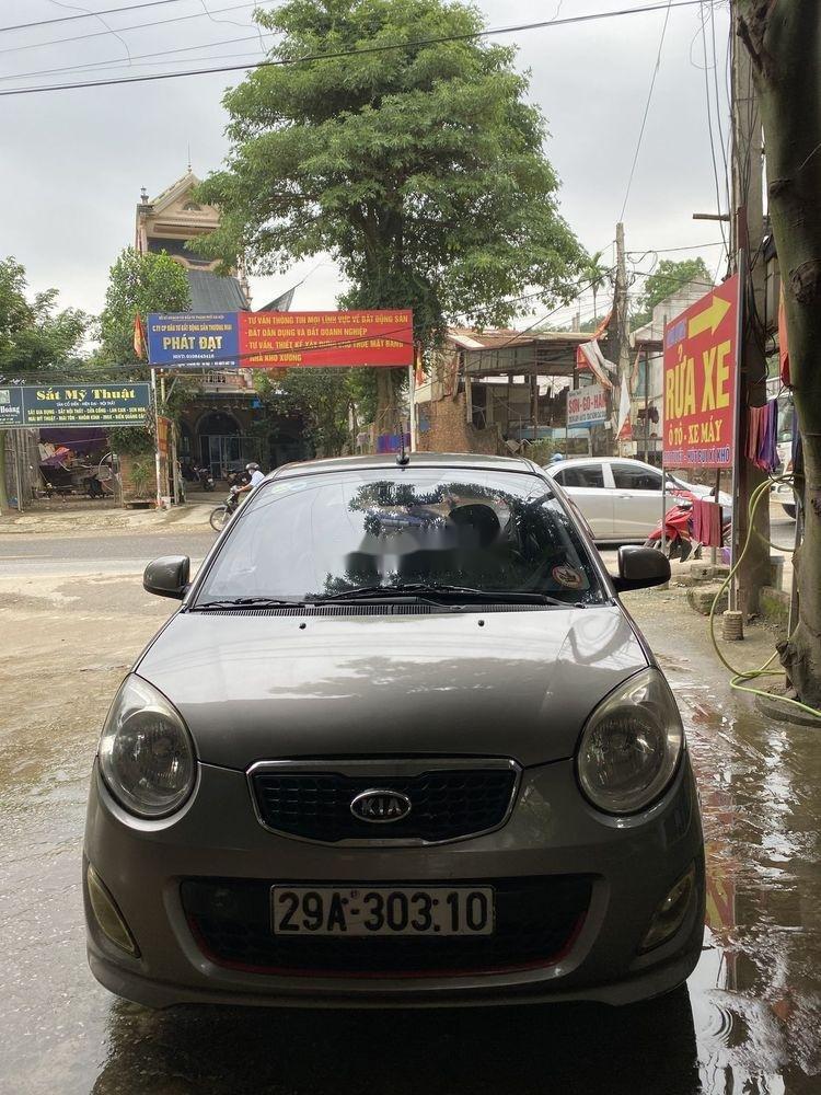 Bán xe Kia Morning đời 2011, màu xám chính chủ, giá tốt (1)