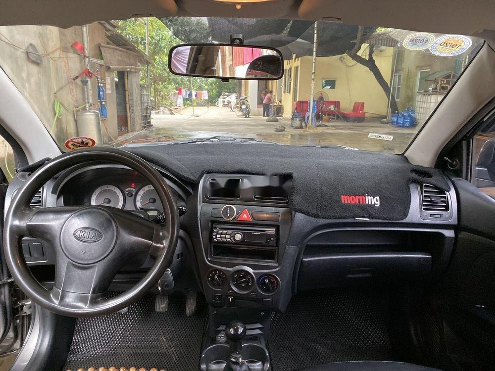 Bán xe Kia Morning đời 2011, màu xám chính chủ, giá tốt (6)