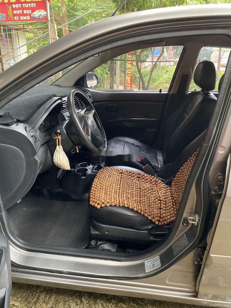 Bán xe Kia Morning đời 2011, màu xám chính chủ, giá tốt (5)