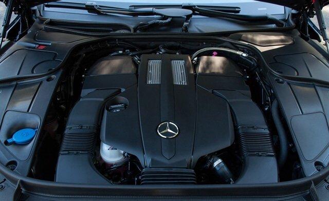 Khối động cơ V6 3.0 làm nên sức mạnh cho Mercedes S450