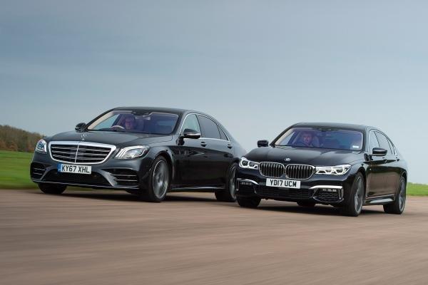 So sánh Mercedes S450 và BMW 740