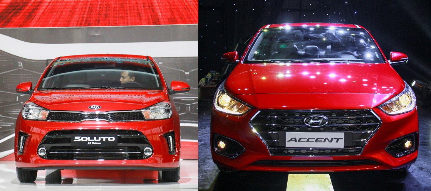 Kia Soluto vs Hyundai Accent