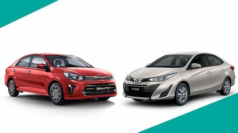 Kia Soluto và Toyota Vios