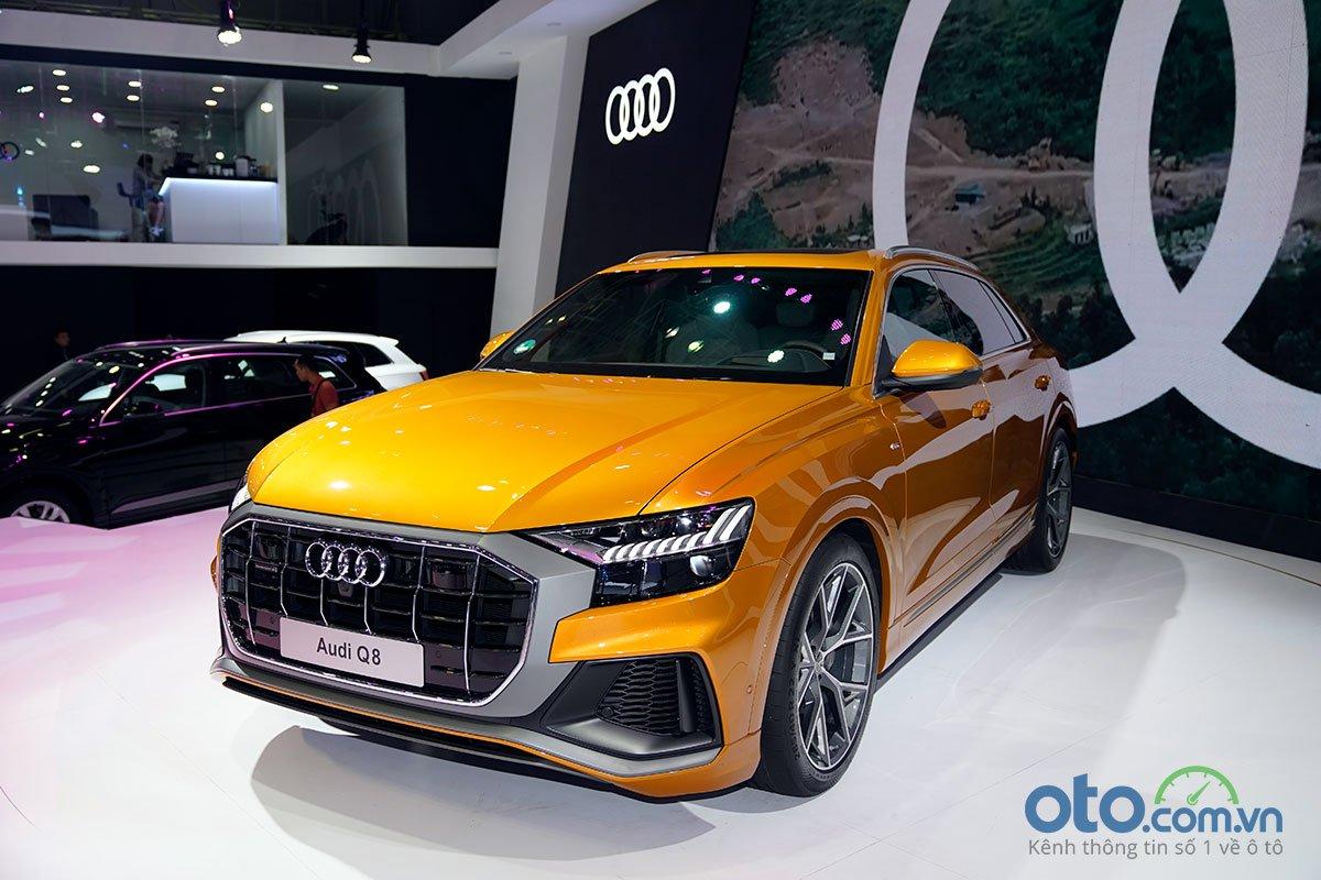Audi Q8 xuất hiện tại VMS 2018.