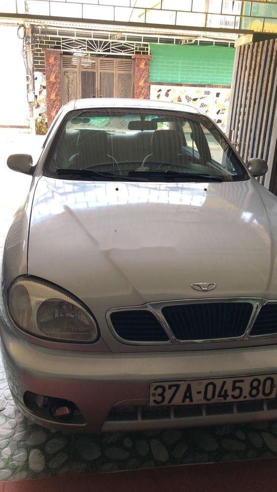 Bán Daewoo Lanos đời 2003, màu bạc, nhập khẩu chính chủ, giá tốt (1)