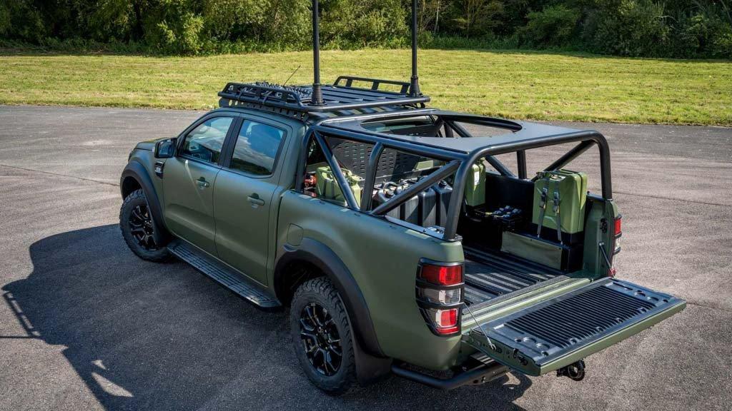 Ford Ranger Bi-Turbo thiện chiến với bản độ đậm chất nhà binh a2
