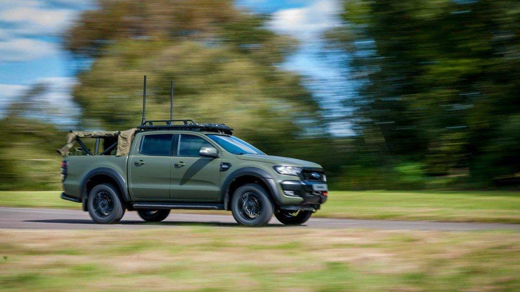 Ford Ranger Bi-Turbo thiện chiến với bản độ đậm chất nhà binh a7