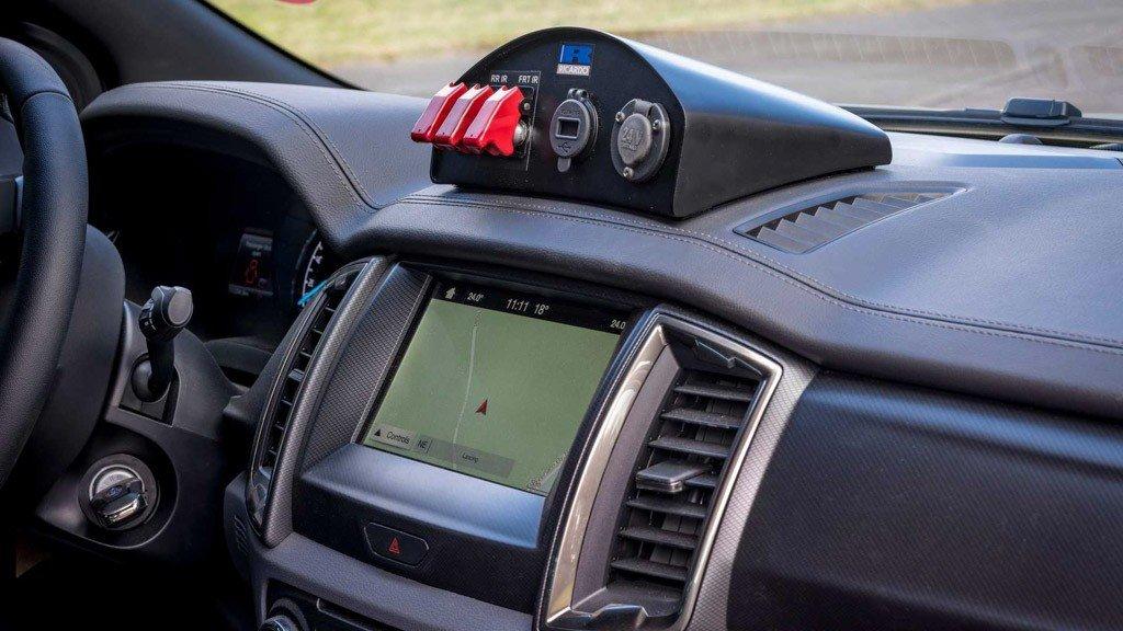 Ford Ranger Bi-Turbo thiện chiến với bản độ đậm chất nhà binh a6