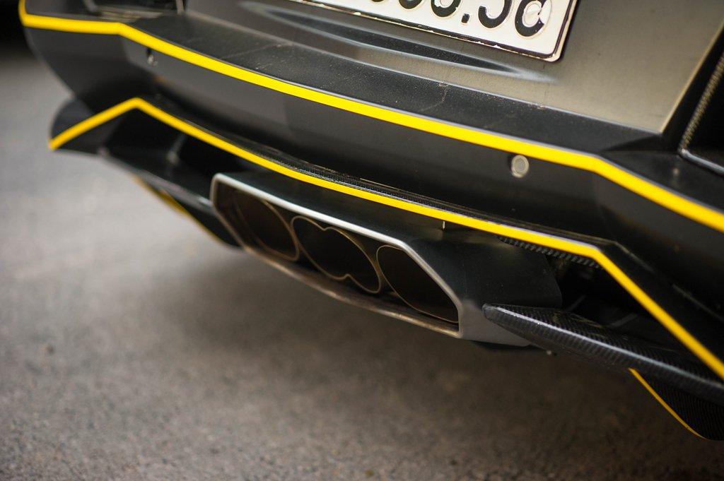 Bản độ Lamborghini Aventador đầu tiên tại Việt Nam dám thay đổi ống xả a7
