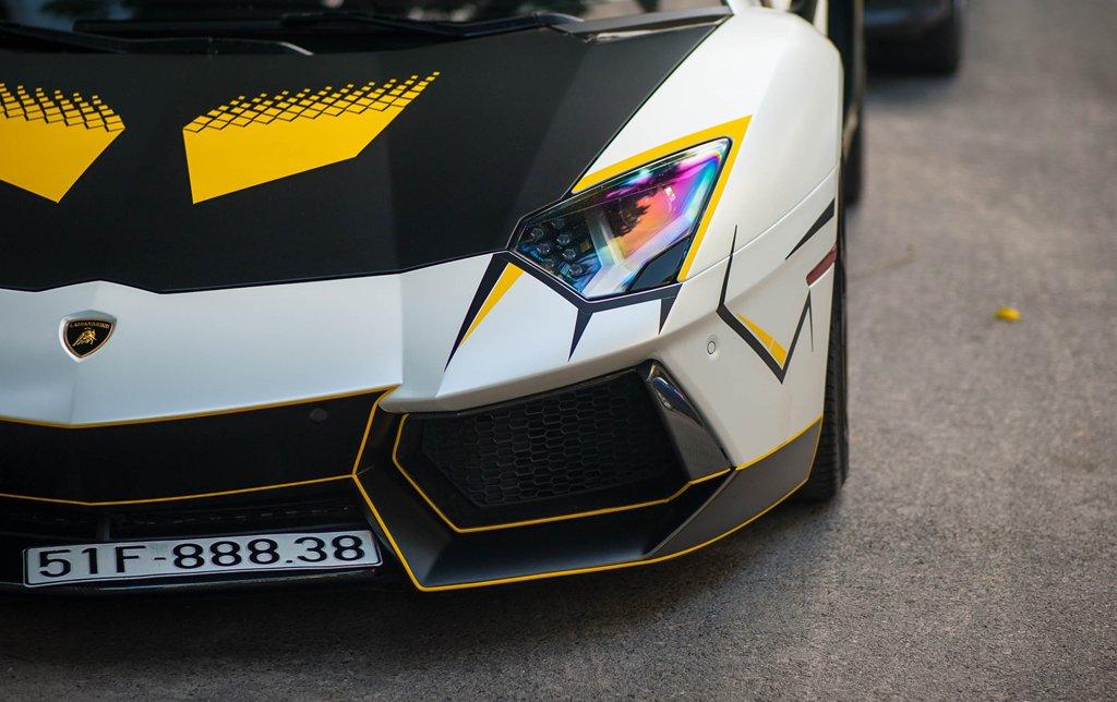 Bản độ Lamborghini Aventador đầu tiên tại Việt Nam dám thay đổi ống xả a5