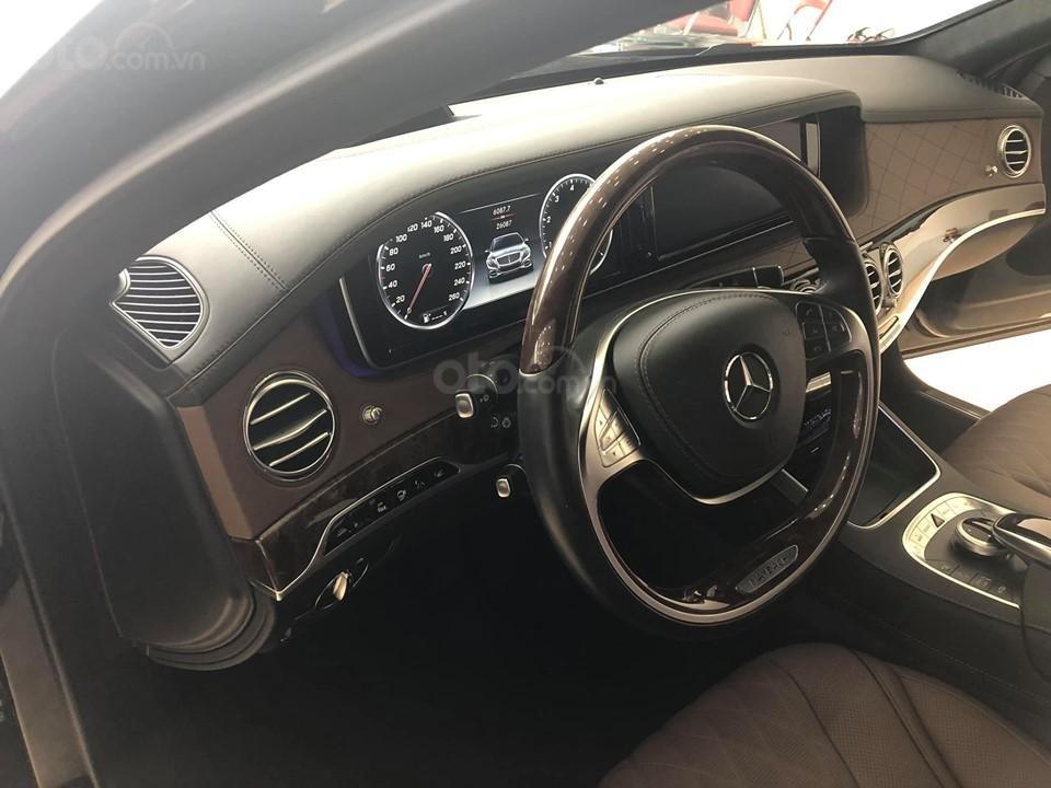 Bán S400 Maybach màu đen nội thất nâu, hàng hiếm, xe mới chạy hơn 2 vạn km còn mới zin (10)
