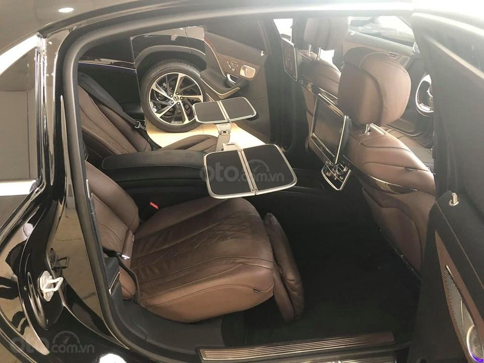 Bán S400 Maybach màu đen nội thất nâu, hàng hiếm, xe mới chạy hơn 2 vạn km còn mới zin (15)