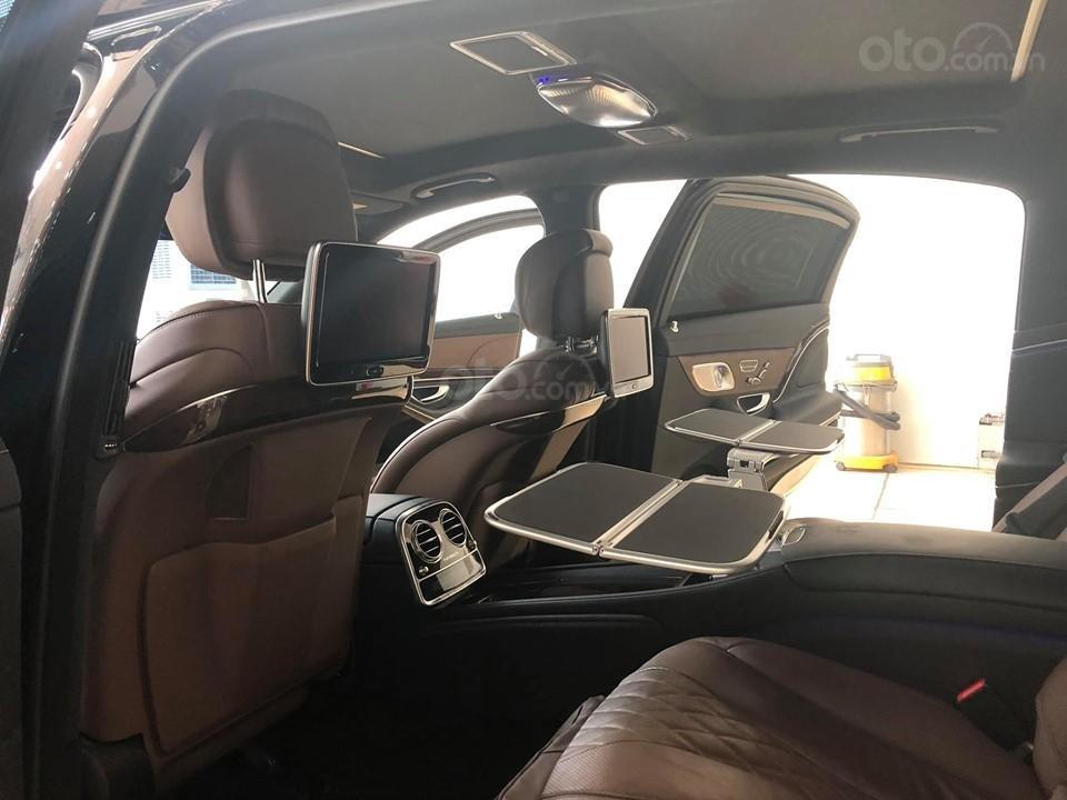 Bán S400 Maybach màu đen nội thất nâu, hàng hiếm, xe mới chạy hơn 2 vạn km còn mới zin (19)