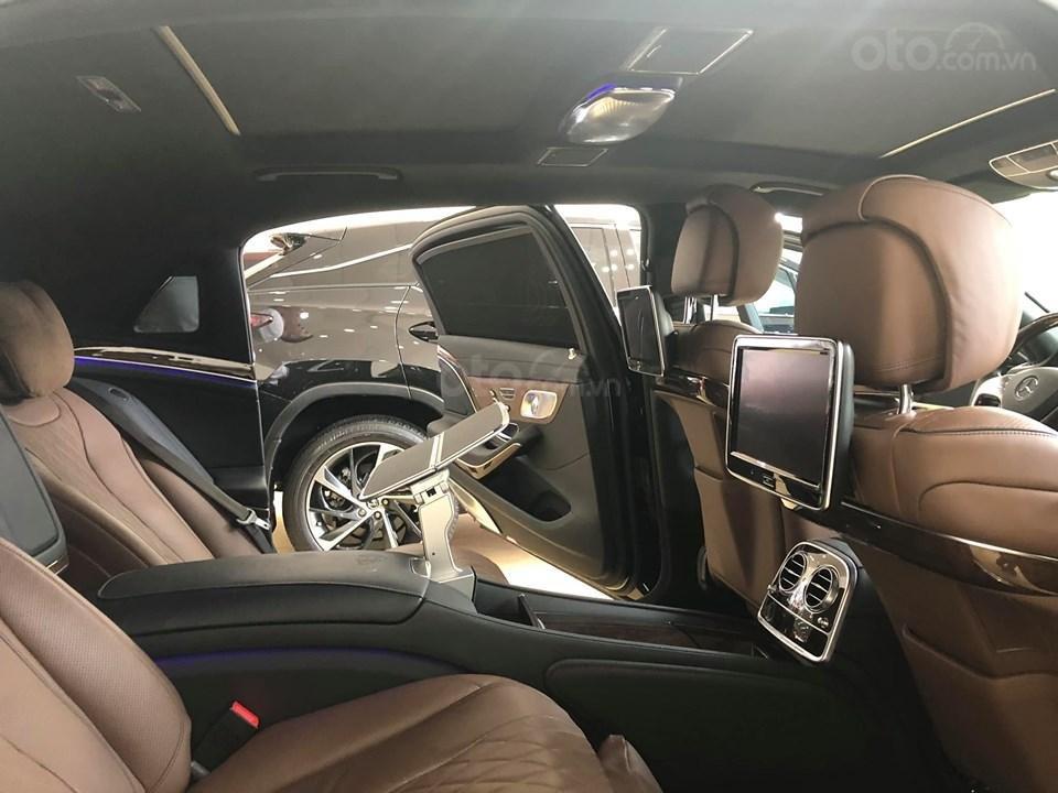 Bán S400 Maybach màu đen nội thất nâu, hàng hiếm, xe mới chạy hơn 2 vạn km còn mới zin (16)