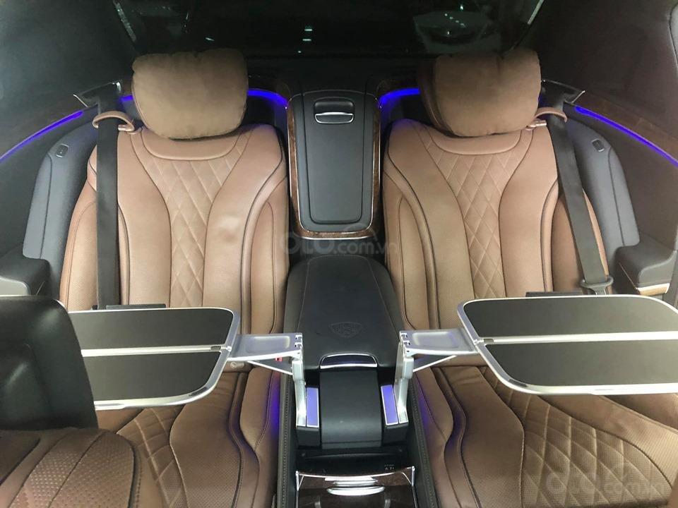 Bán S400 Maybach màu đen nội thất nâu, hàng hiếm, xe mới chạy hơn 2 vạn km còn mới zin (17)
