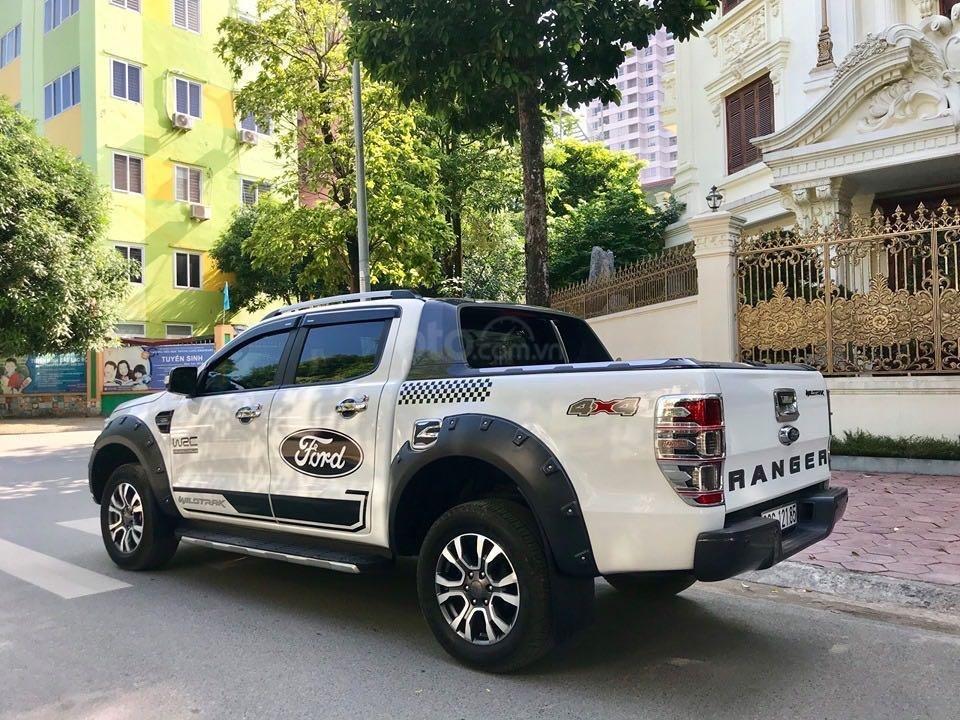 Cần bán lại xe Ford Ranger đăng ký lần đầu 2018, màu trắng mới 95%, giá 855 triệu đồng (2)