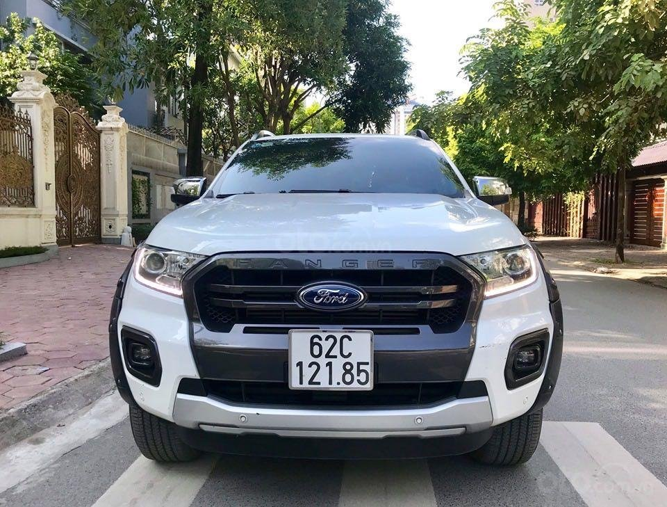 Cần bán lại xe Ford Ranger đăng ký lần đầu 2018, màu trắng mới 95%, giá 855 triệu đồng (3)