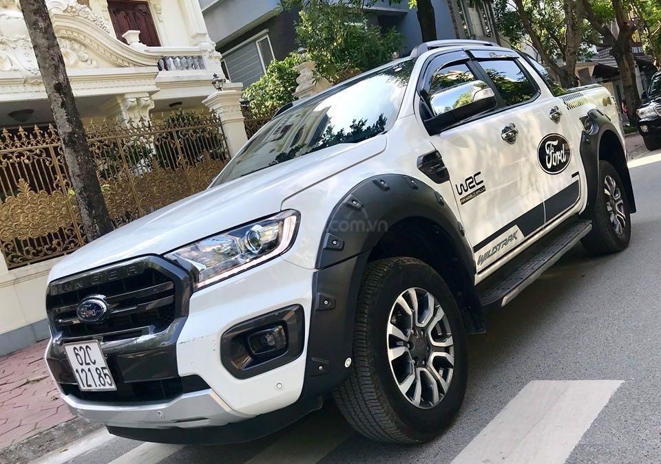 Cần bán lại xe Ford Ranger đăng ký lần đầu 2018, màu trắng mới 95%, giá 855 triệu đồng (5)