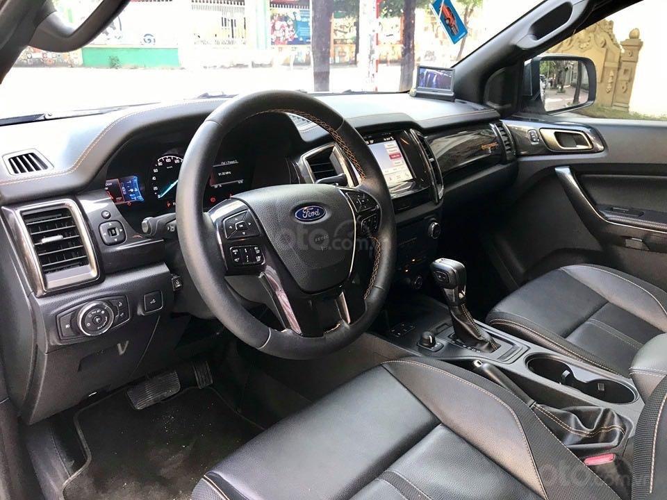 Cần bán lại xe Ford Ranger đăng ký lần đầu 2018, màu trắng mới 95%, giá 855 triệu đồng (11)