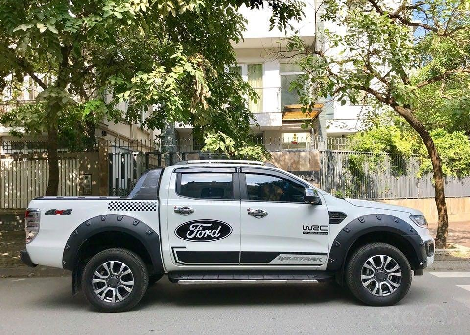 Cần bán lại xe Ford Ranger đăng ký lần đầu 2018, màu trắng mới 95%, giá 855 triệu đồng (14)