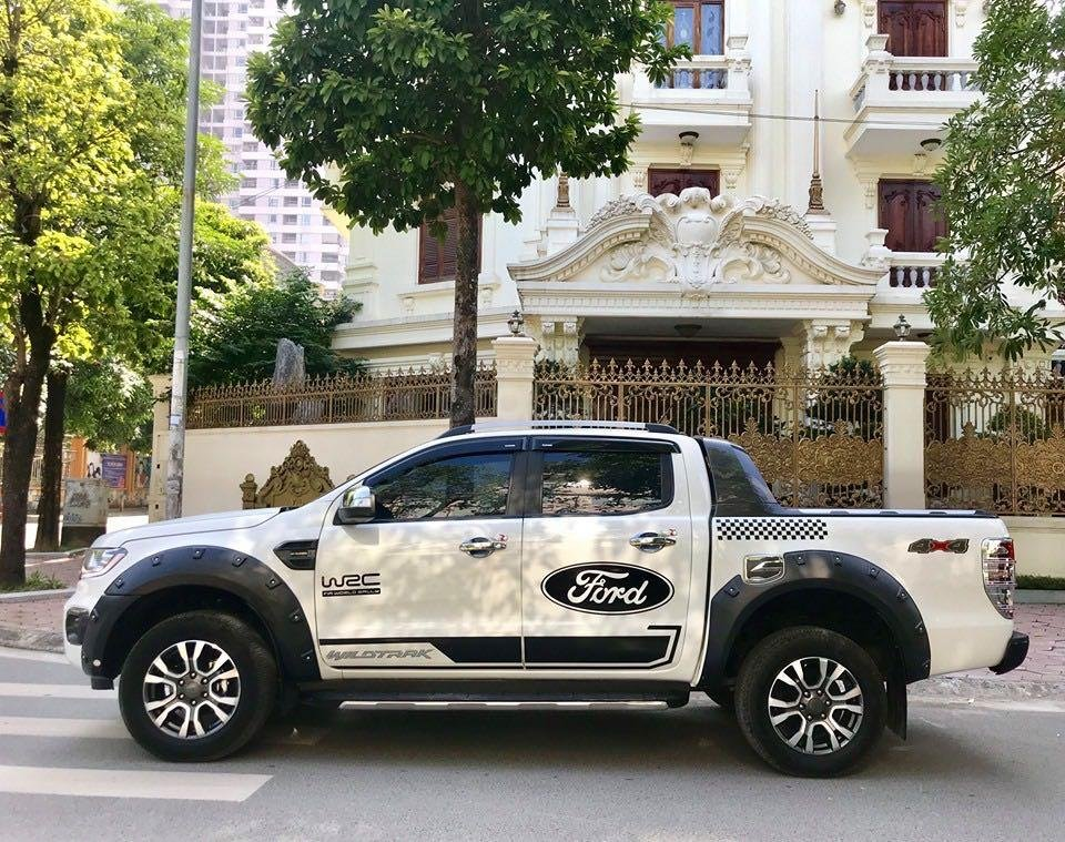 Cần bán lại xe Ford Ranger đăng ký lần đầu 2018, màu trắng mới 95%, giá 855 triệu đồng (13)