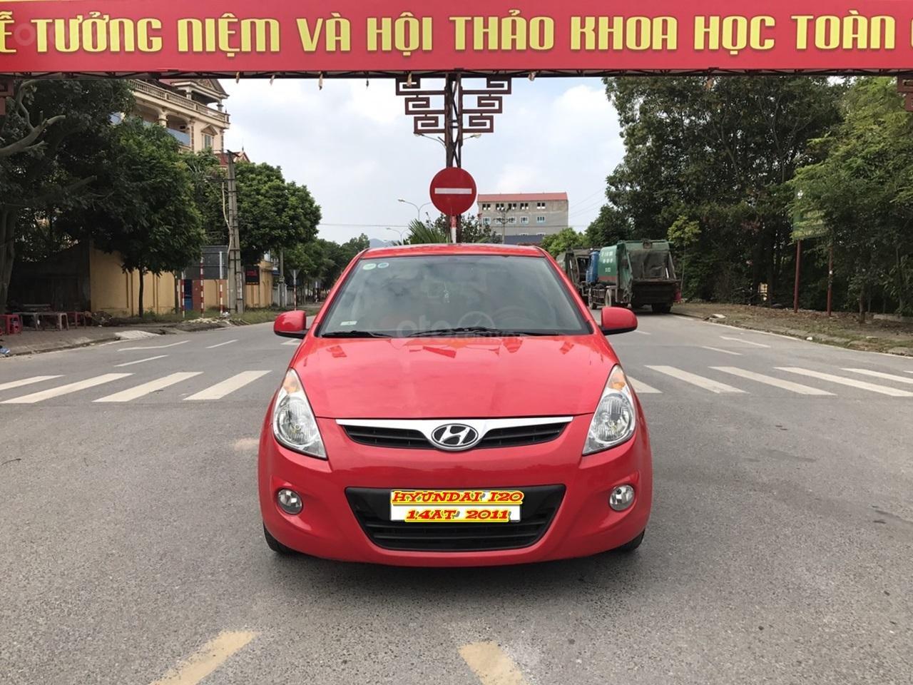 Bán Hyundai i20 1.4 AT đời 2011, màu đỏ, xe nhập, bản full, xe xuất sắc luôn (1)