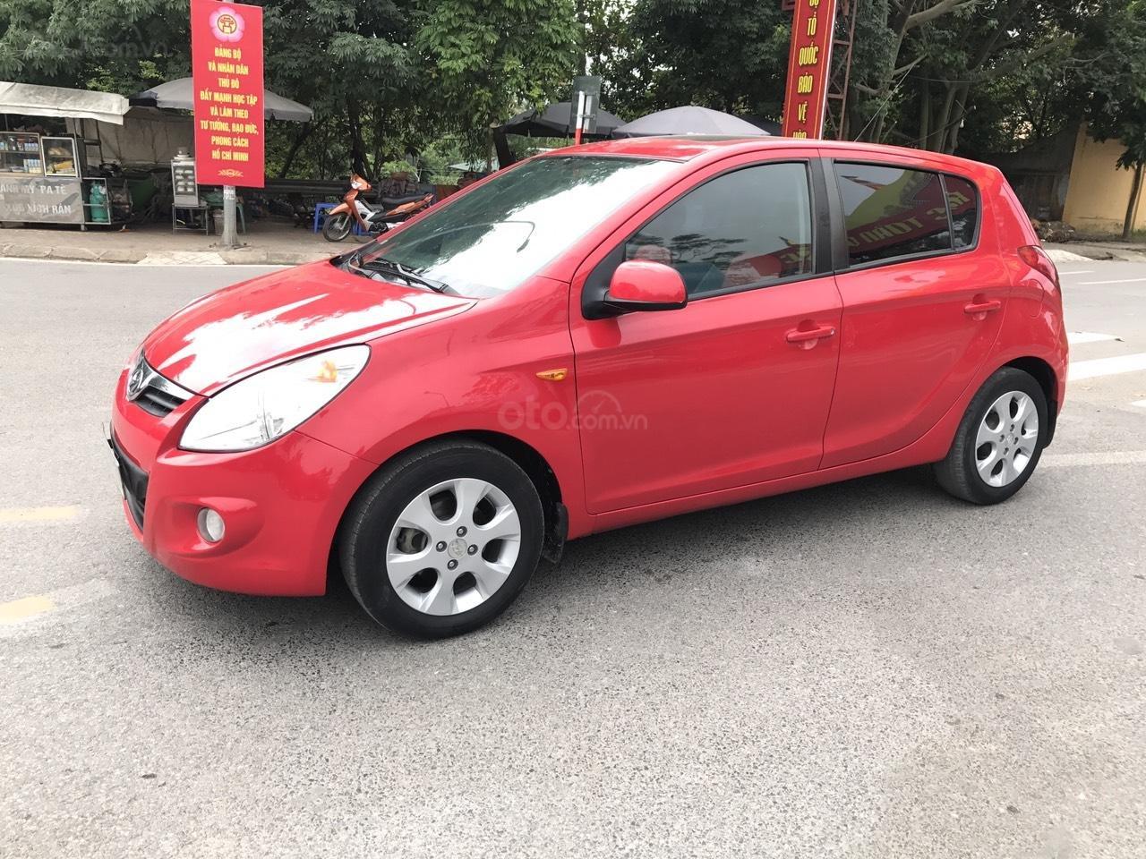 Bán Hyundai i20 1.4 AT đời 2011, màu đỏ, xe nhập, bản full, xe xuất sắc luôn (2)
