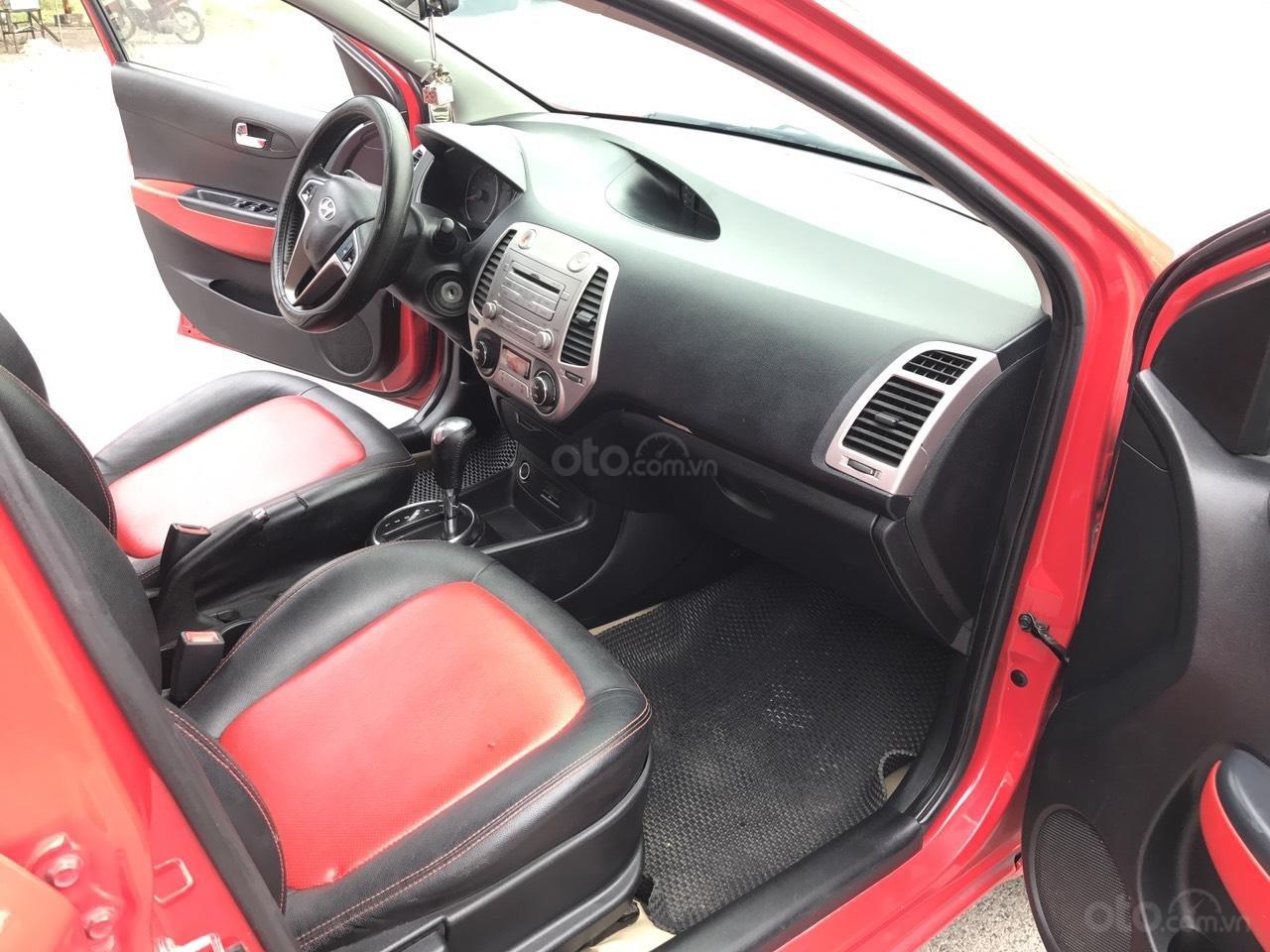 Bán Hyundai i20 1.4 AT đời 2011, màu đỏ, xe nhập, bản full, xe xuất sắc luôn (7)