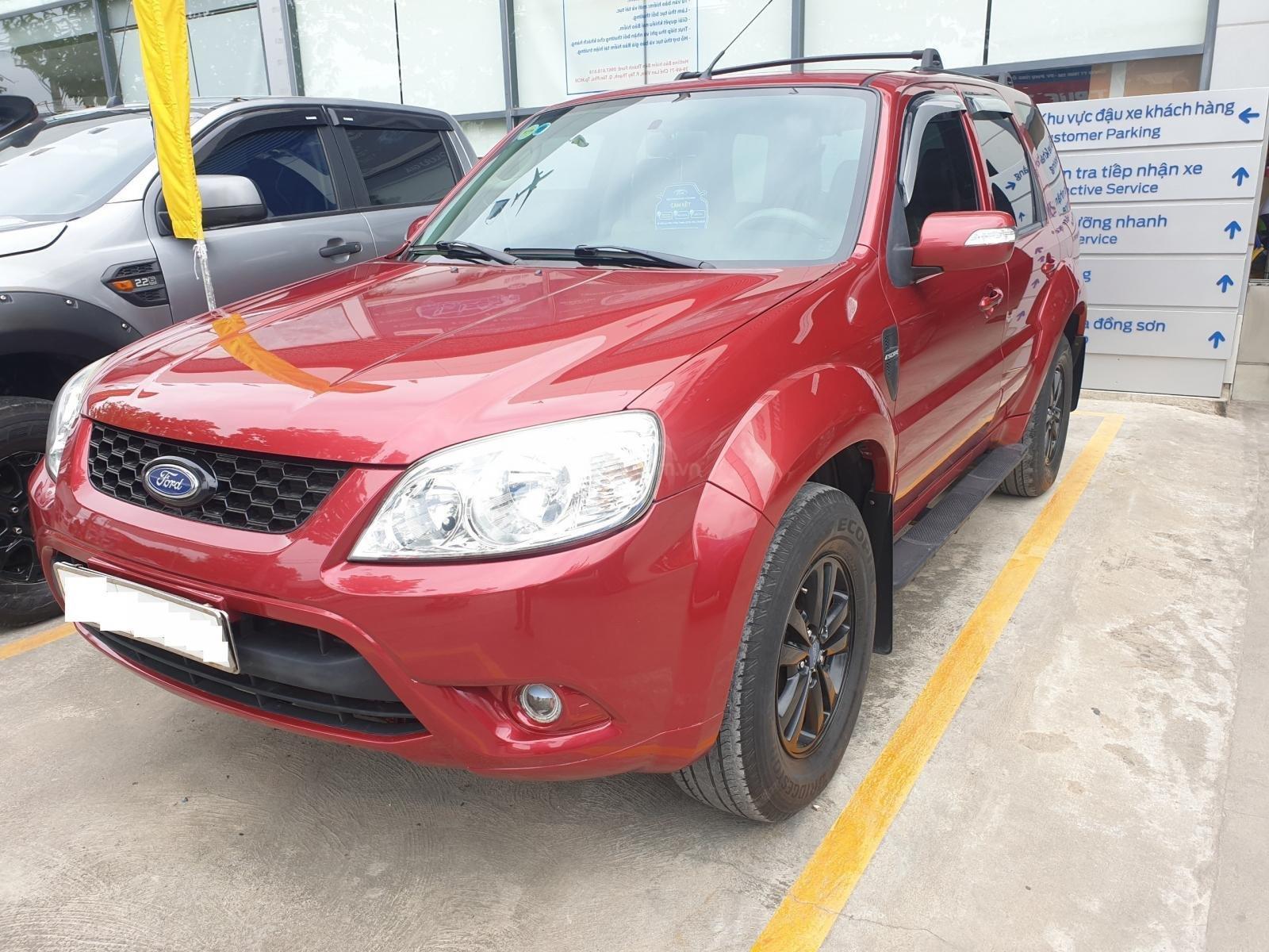 Bán Ford Escape XLS 2.3 4x2 đời 2010, màu đỏ, bảo hành 01 năm (1)