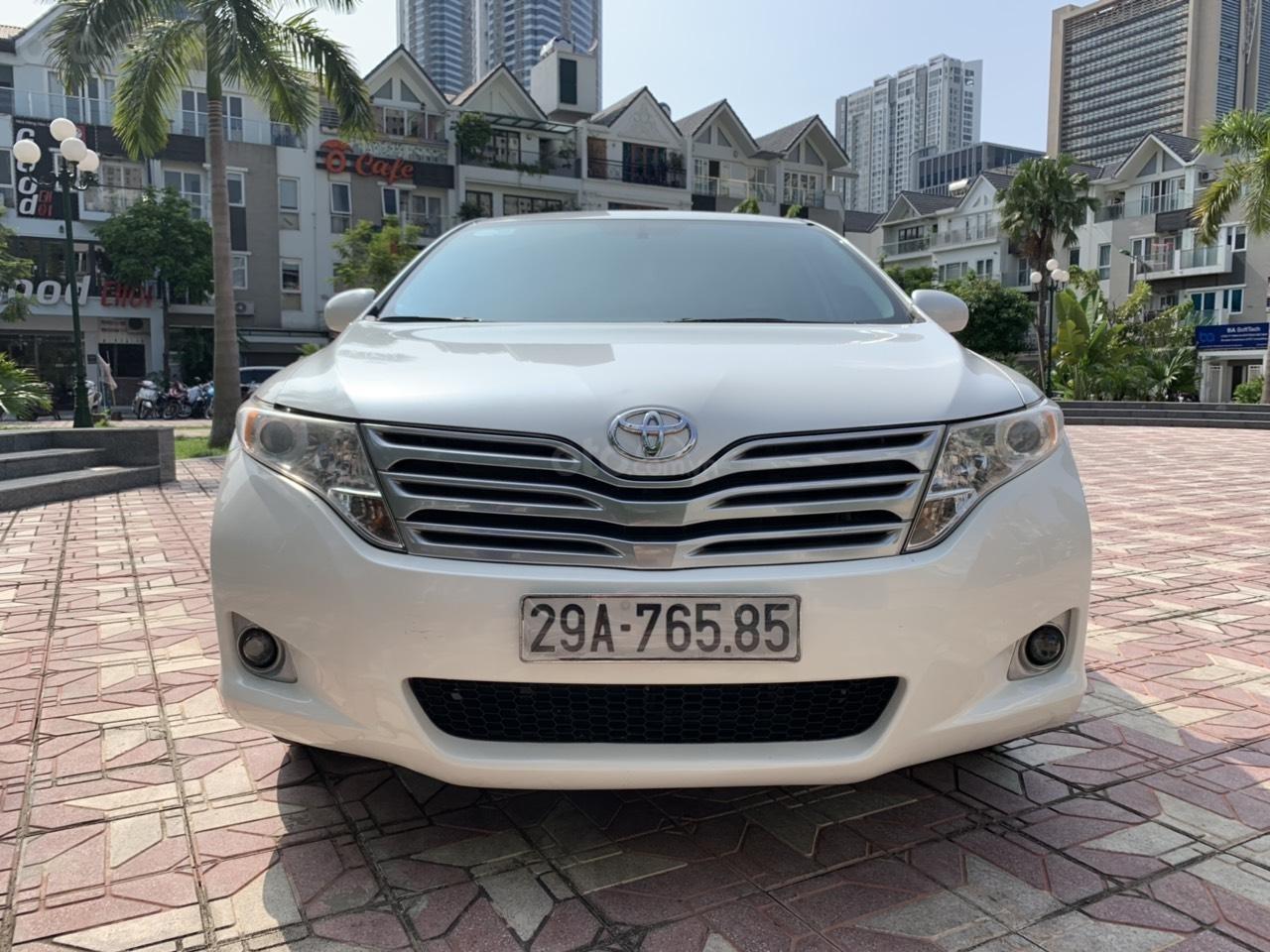 Cần bán Toyota Venza đời 2009, màu trắng, giá tốt (12)