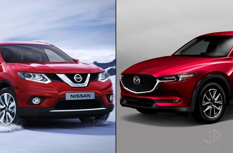 Mazda CX5 và Nissan X-trail 2019