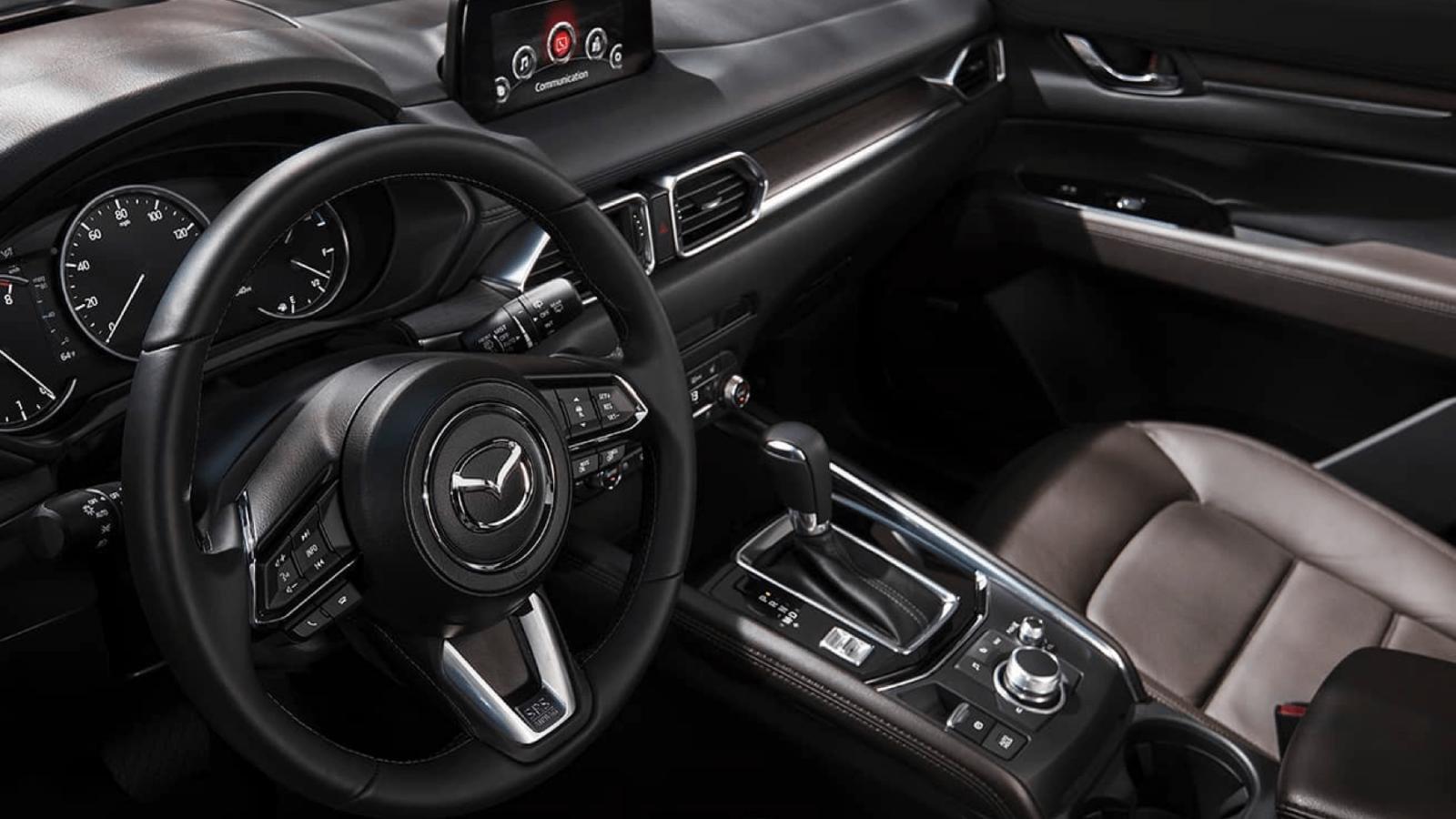 Tiện nghi hiện đại hội tụ đầy đủ trên Mazda CX5