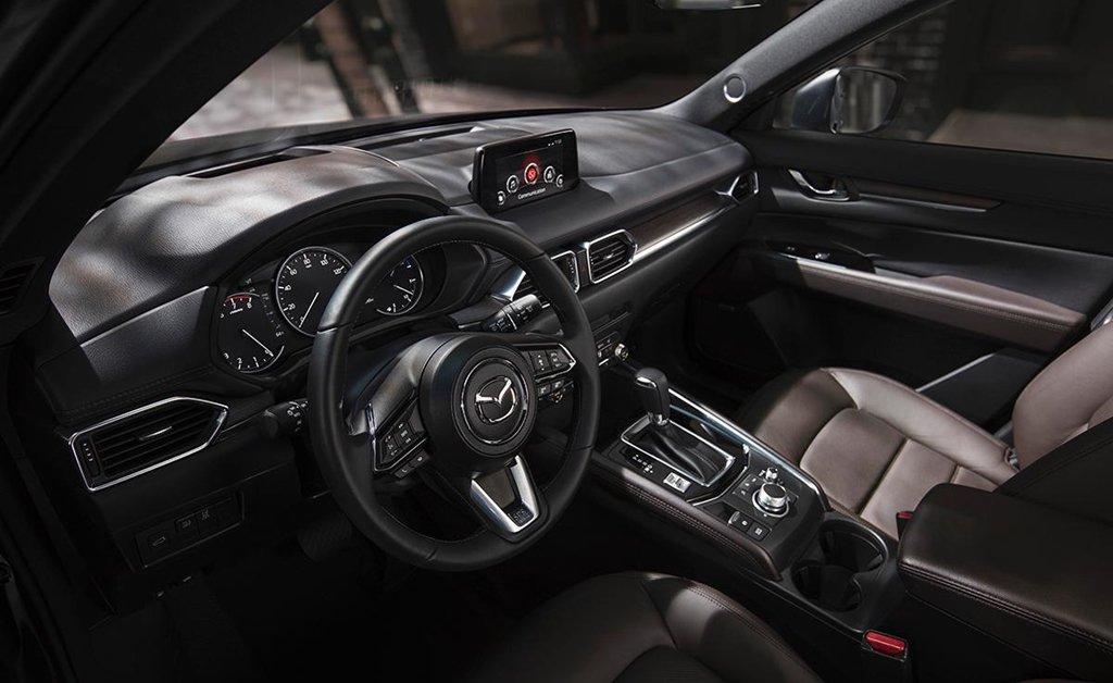 Nội thất Mazda Cx5: tối giản hóa mặt taplo