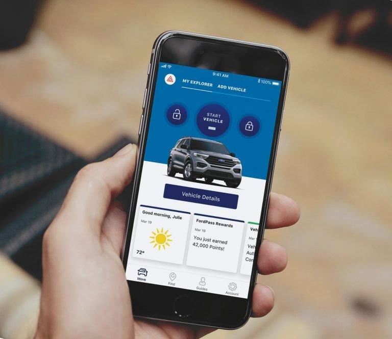 Ford phát triển dịch vụ FordPass Connect kết nối ô tô và chủ ô tô miễn phí.