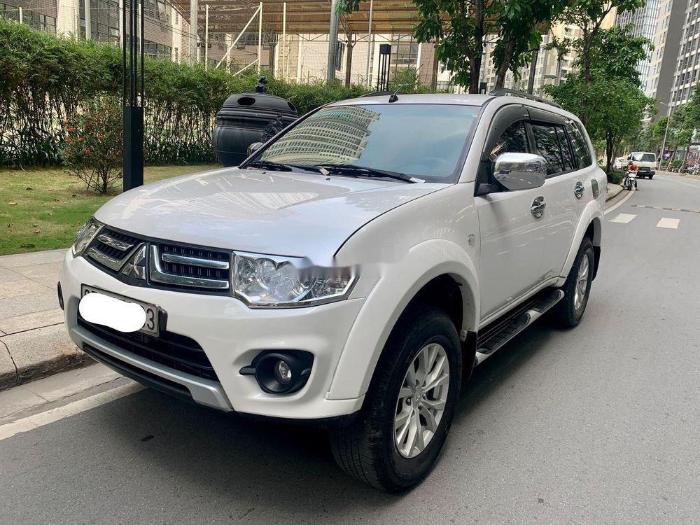 Cần bán Mitsubishi Pajero MT 2016, màu trắng, nhập khẩu   (2)