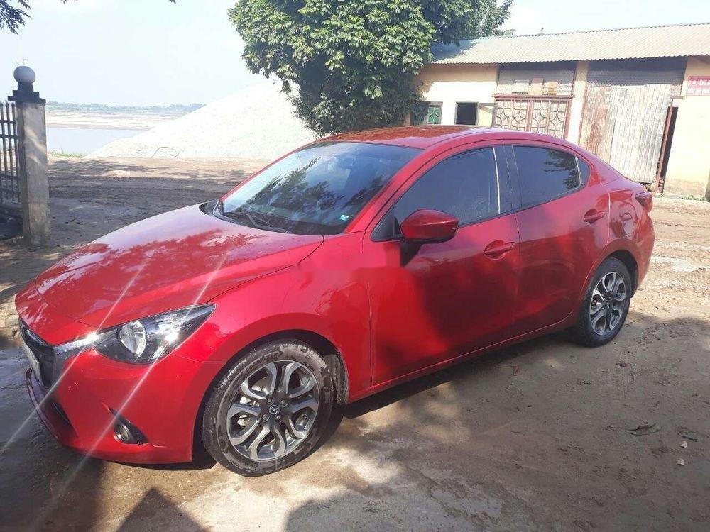Bán ô tô Mazda 2 năm 2015, màu đỏ, xe nhập (1)