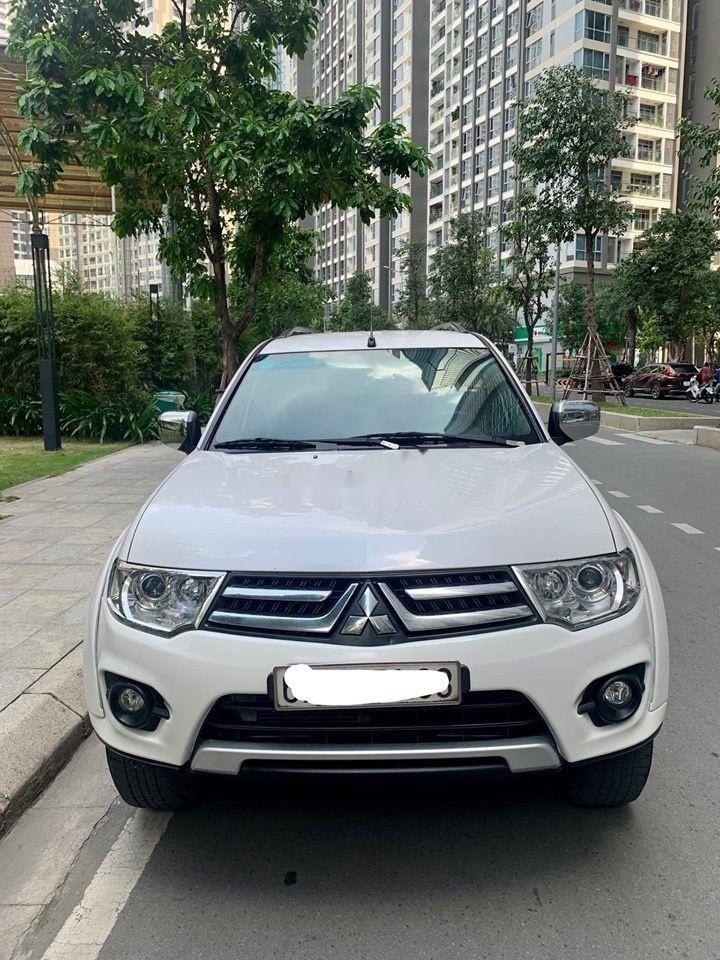Cần bán Mitsubishi Pajero MT 2016, màu trắng, nhập khẩu   (3)