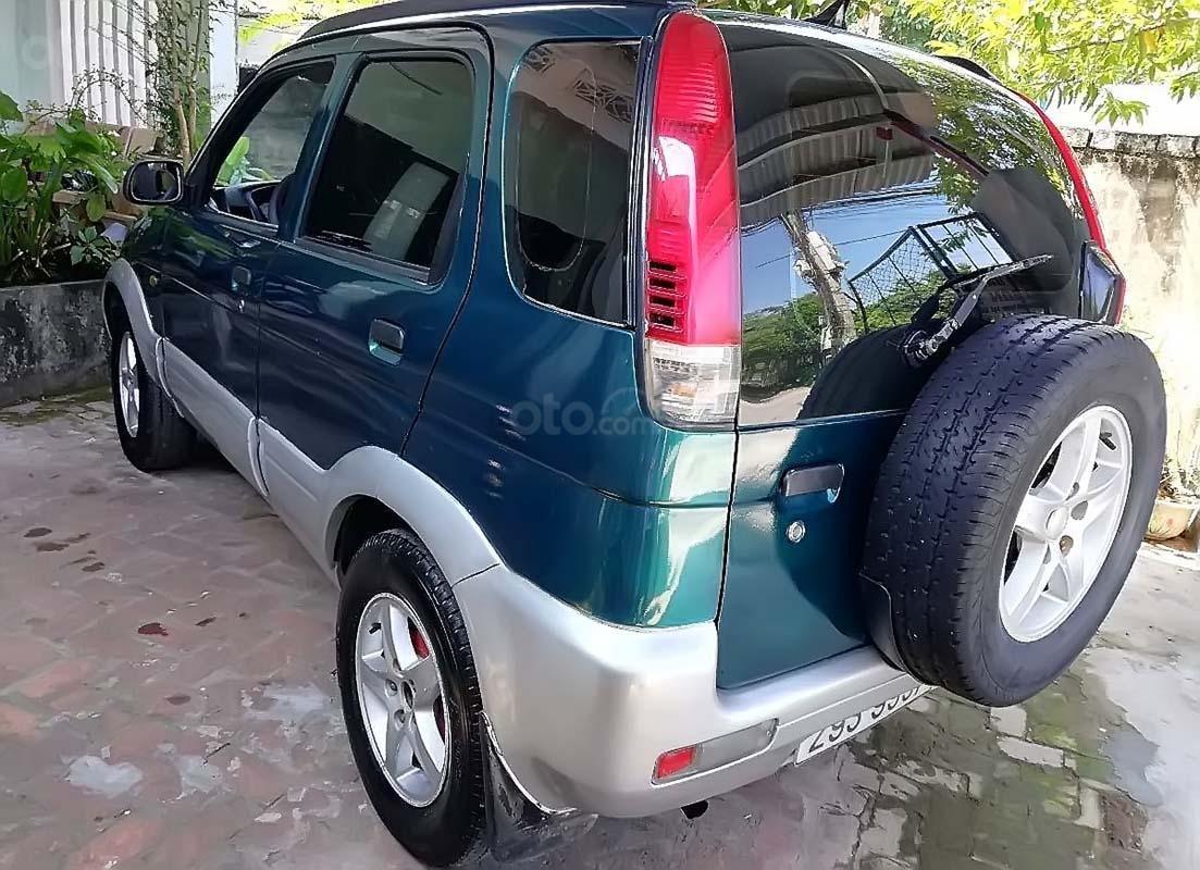 Cần bán Daihatsu Terios 1.3 4x4 MT sản xuất năm 2003, màu xanh lam (4)