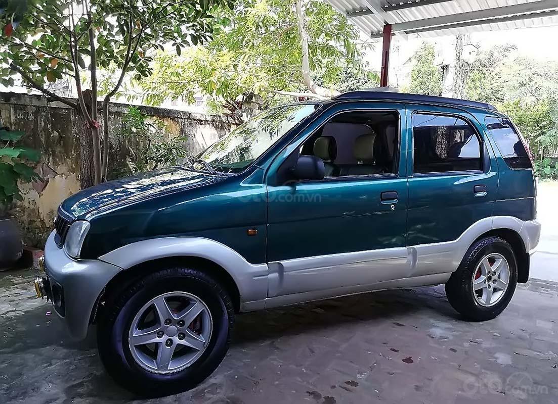 Cần bán Daihatsu Terios 1.3 4x4 MT sản xuất năm 2003, màu xanh lam (2)