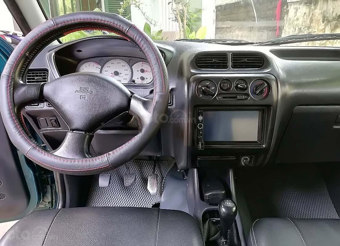 Cần bán Daihatsu Terios 1.3 4x4 MT sản xuất năm 2003, màu xanh lam (3)
