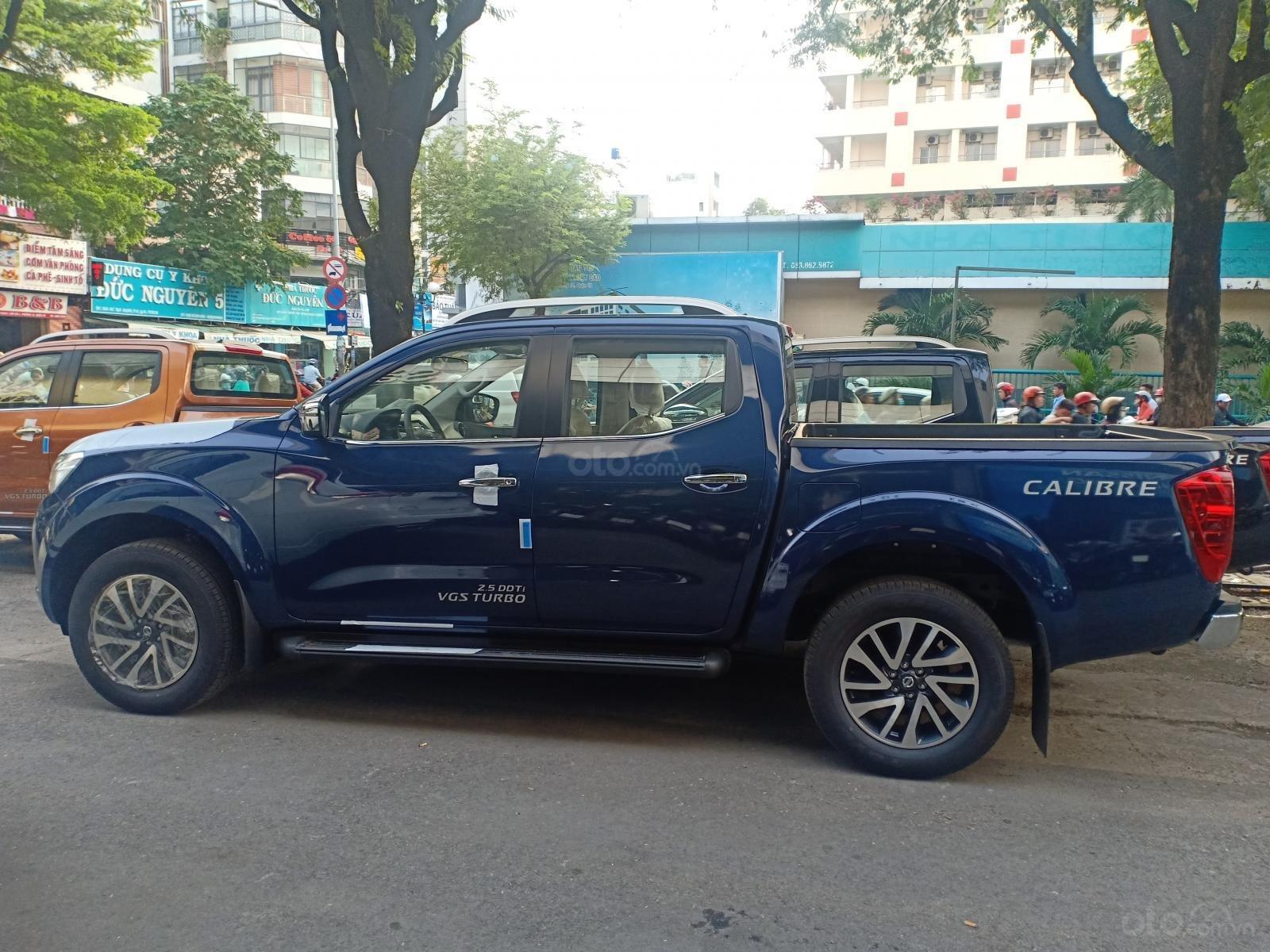 Bán xe Nissan Navara EL 2020, màu xanh lam, nhập khẩu nguyên chiếc, giá 669tr. LH 0977850771 (2)