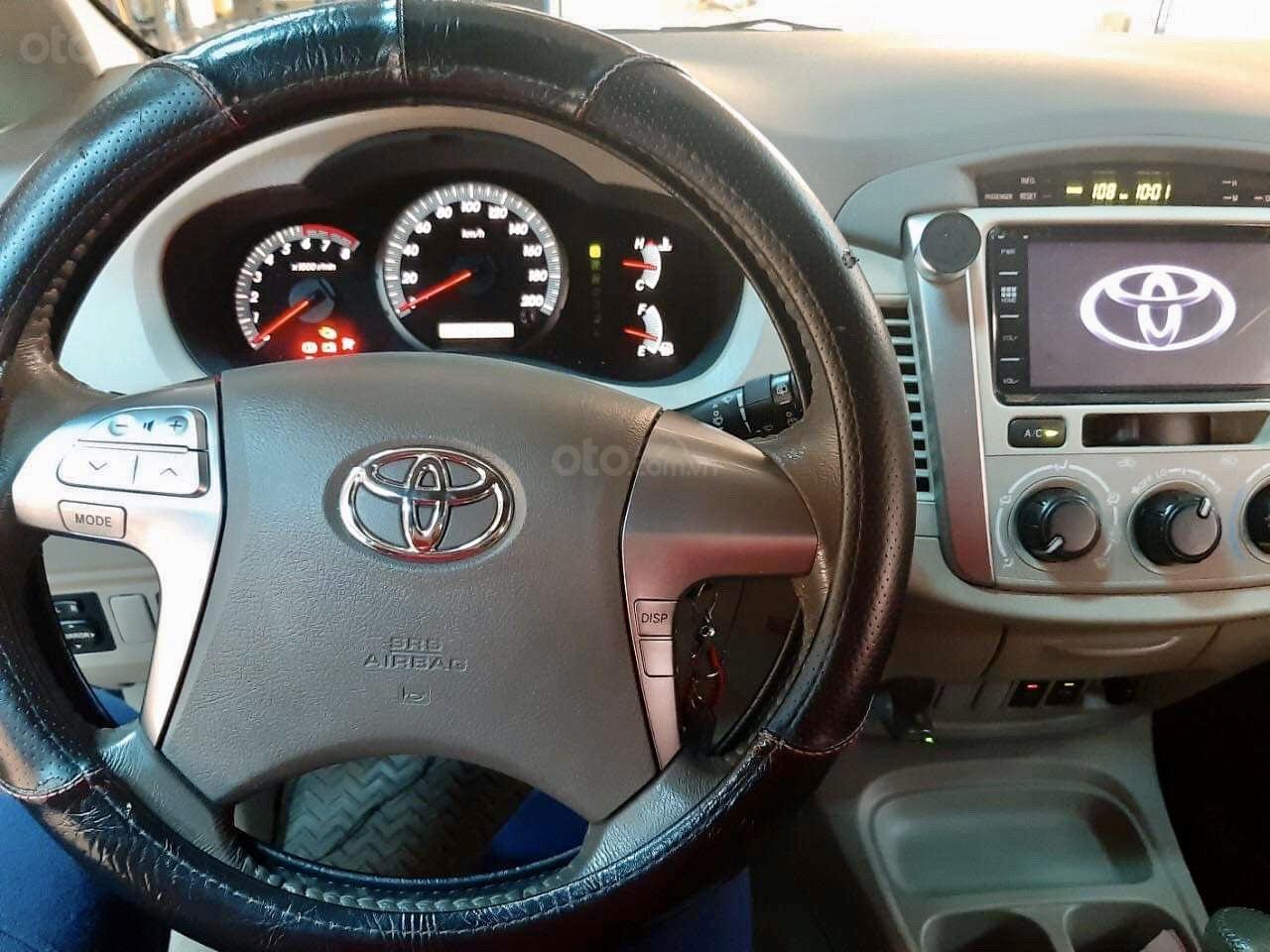 Bán ôtô Toyota Innova G năm 2014, màu nâu vàng (3)