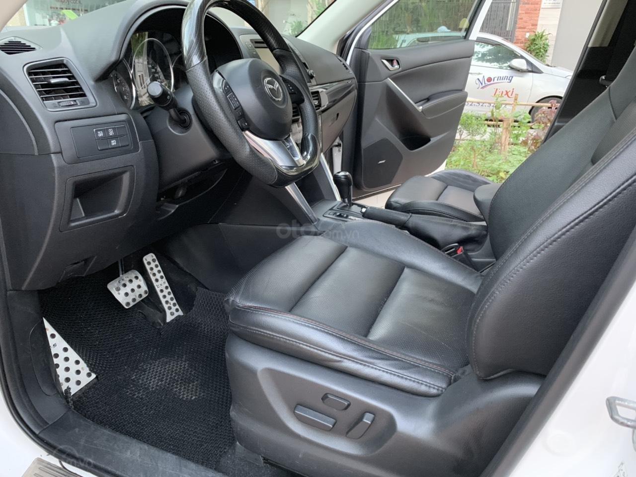 Cần bán Mazda CX 5 2.0 AT AWD năm 2013, màu trắng (2)