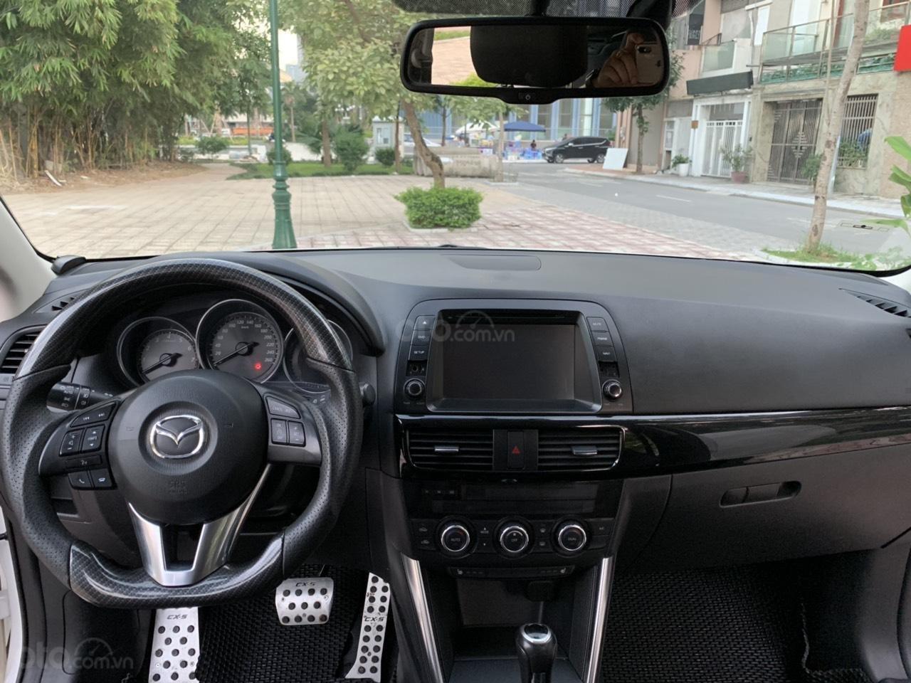 Cần bán Mazda CX 5 2.0 AT AWD năm 2013, màu trắng (11)