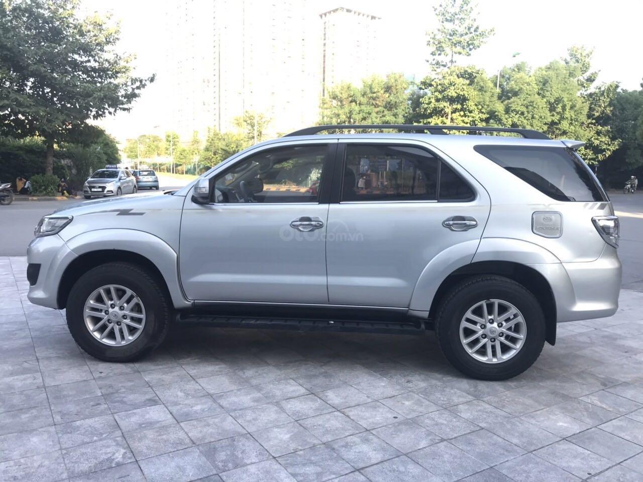 Cần bán xe Toyota Fortuner đăng ký lần đầu 2012, màu bạc, nhập khẩu nguyên chiếc, giá chỉ 670 triệu đồng (2)